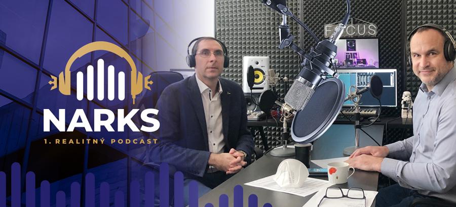 1. realitný podcast NARKS